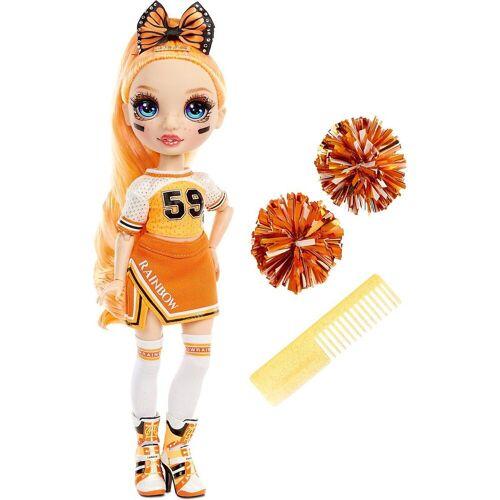 MGA Anziehpuppe »Rainbow High Cheer Doll - Poppy Rowan (Orange)«, orange