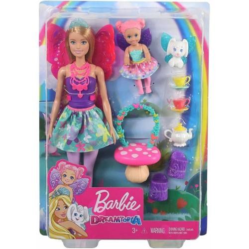 Mattel Anziehpuppe »Mattel GJK50 - Barbie - Dreamtopia - Elfenpuppe, Set«