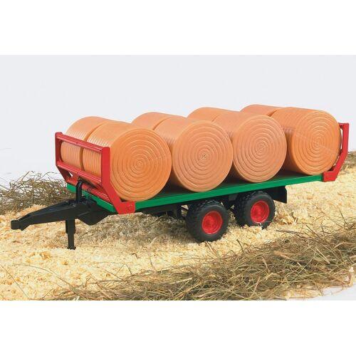 Bruder® Spielfahrzeug-Anhänger »Ballentransportanhänger mit 8 Rundballen«, 02220, Made in Germany