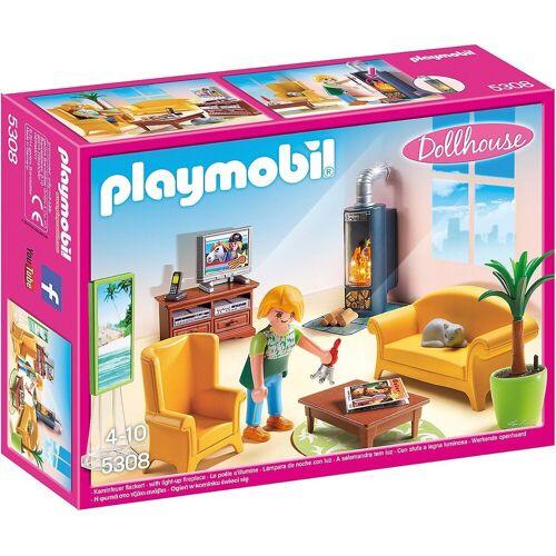 Playmobil Spielfigur »5308 Wohnzimmer mit Kaminofen«