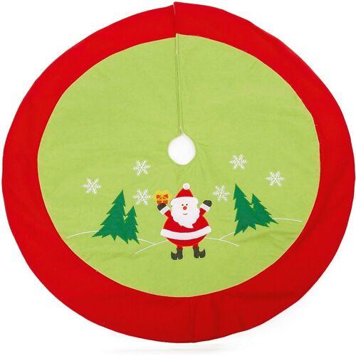 Small Foot Weihnachtsbaum »Weihnachtsbaumdecke Santa«