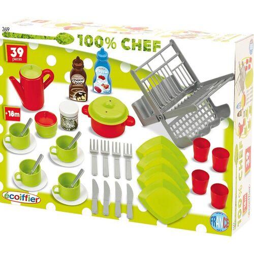 Ecoiffier Spielgeschirr »100% Chef Spielgeschirrset«