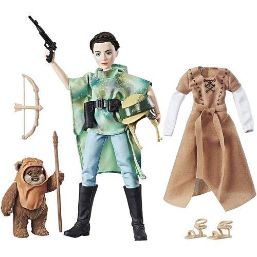 Hasbro Actionfigur »Star Wars Leia mit Ewok«