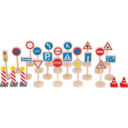 Small Foot Spielzeug-Auto »Verkehrsschilder-Set«, (25-tlg)