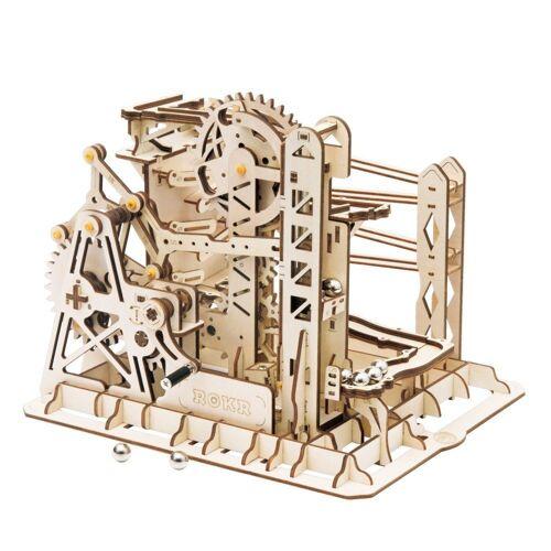 ROKR 3D-Puzzle »Kugelbahn / Marble Run«, 260 Puzzleteile