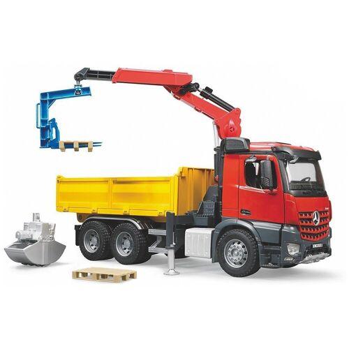 Bruder® Spielzeug-Auto »Bruder 3651 Profi-Serie MB Arocs Baustellen-LKW«