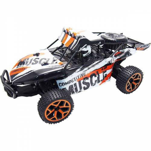 "Amewi Spielzeug-Auto »RC Sand Buggy Extreme D5 ""white-orange"" 1:18 4WD«"