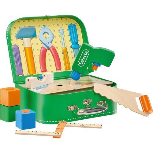 Selecta Spielwerkzeugkoffer »Werkzeugkoffer, 25x18 cm«