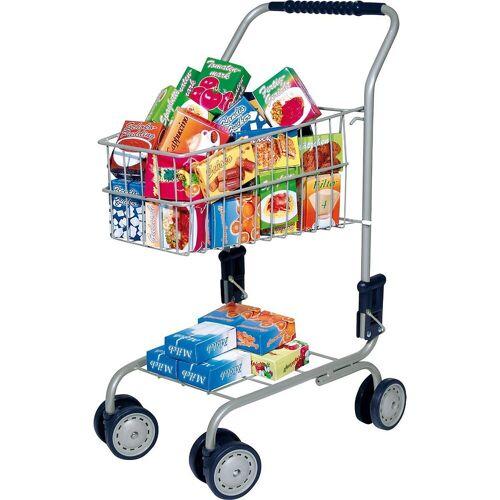 Bayer Spiel-Einkaufswagen »Einkaufswagen, gefüllt, 60-tlg.«