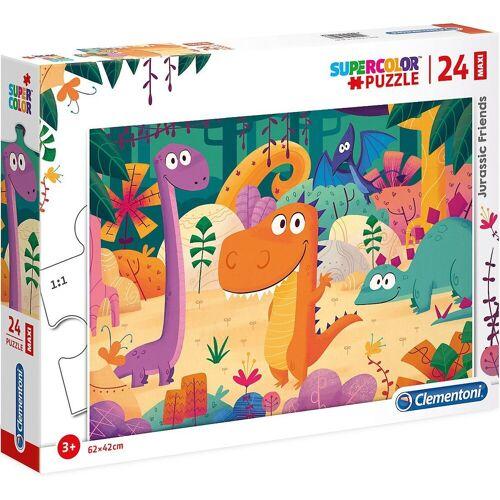 Clementoni® Puzzle »Puzzle 24 Teile Maxi - Jurassic Friends«, Puzzleteile