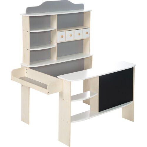 roba® Kaufladen »Verkaufsstand weiß/grau«