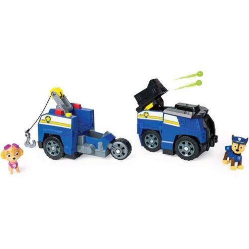 Spin Master Spielfigur »Paw Patrol Chase 2 in 1 Polizeiauto mit Skye«, (2-tlg), Paw Patrol Chase 2 in 1 Polizeiauto mit Skye