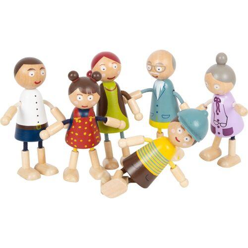 Legler Biegepuppe »Biegepuppen Familie« (Set, 6-tlg)