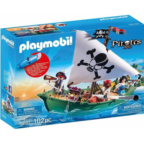 Playmobil Spielfigur »70151 Piratenschiff«