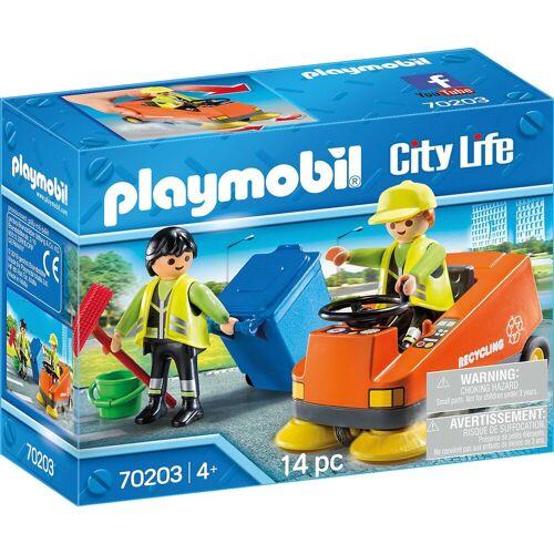 Playmobil Konstruktions-Spielset »70203 Kehrmaschine«