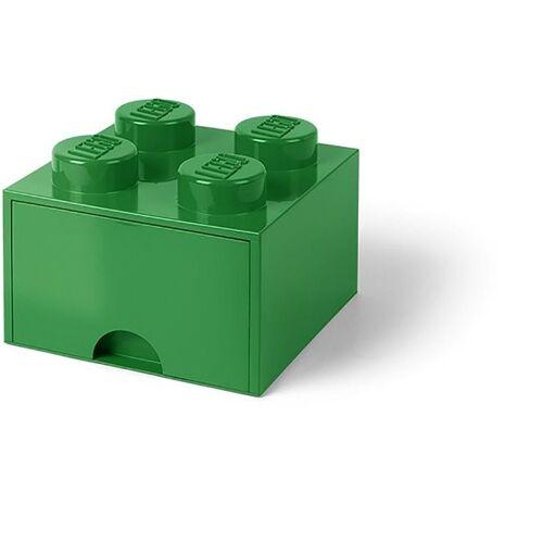 Room Copenhagen Aufbewahrungsbox »Lego - Aufbewahrungsbox im Legostein Design mit einer Schublade - grün«