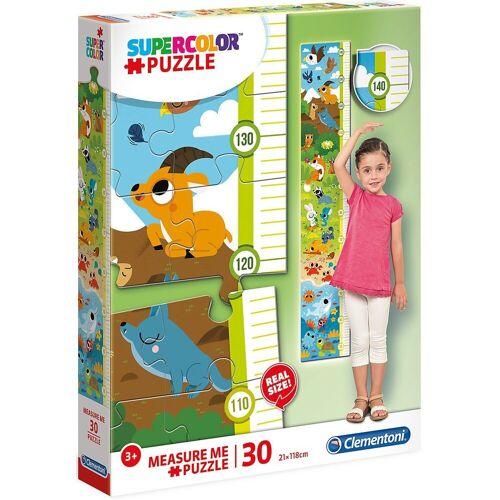 Clementoni® Puzzle »Messlatten Puzzle 30 Teile - süße Tiere«, Puzzleteile