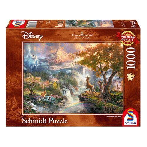 Schmidt Spiele Puzzle »Disney, Bambi Thomas Kinkade«, 1000 Puzzleteile