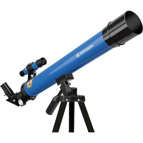 BRESSER Teleskop »Linsenteleskop 45/600 AZ Blau«