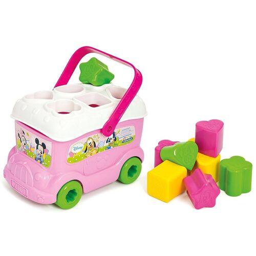 Clementoni® Steckspielzeug »Minnie Mouse - Steckspiel Bus«