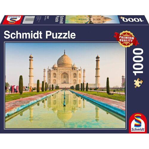 Schmidt Spiele Puzzle »Schmidt 58337 - Premium Quality - Taj Mahal, Puzzle 1000 Teile«, 1000 Puzzleteile