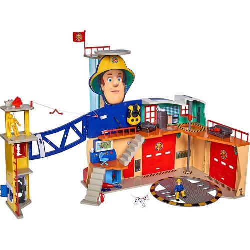 SIMBA Spielzeug-Auto »Feuerwehrmann Sam Mega-Feuerwehrstation XXL«