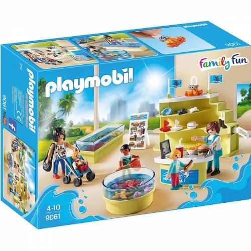 Playmobil Spielfigur »9061 Aquarium-Shop«