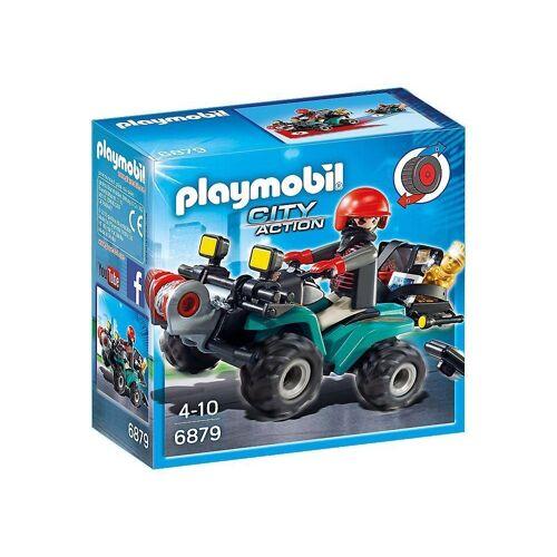 Playmobil Spiel, »Ganoven-Quad mit Seilwinde«