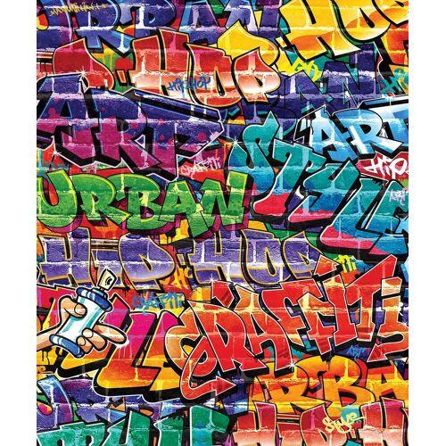 Walltastic Fototapete »Fototapete Graffiti, 8 tlg.«