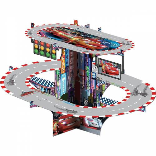Procos Etagere »Kuchenständer 3D Cars Neon«, grau/rot