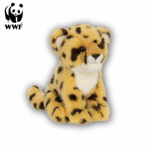 WWF Plüschfigur »Plüschtier Gepard (sitzend, 15cm)«
