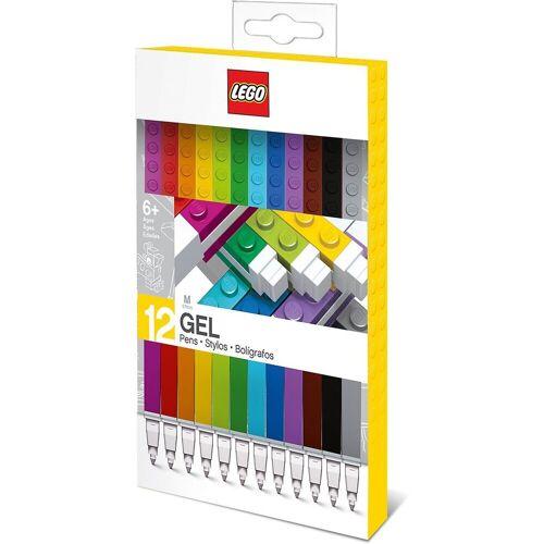 Lego Filzstift »Gelstifte LEGO, 12 Farben«