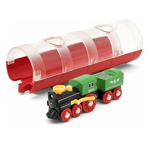 Brio Spielzeug-Eisenbahn »Tunnel Box Dampflokzug«