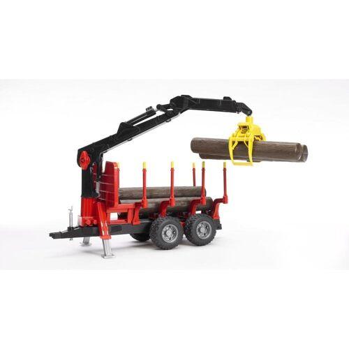 Bruder® Spielfahrzeug-Erweiterung »Rückeanhänger«