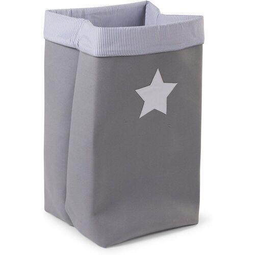 CHILDHOME Aufbewahrungsbox »Korb Canvas, grau, 32x32x60 cm«