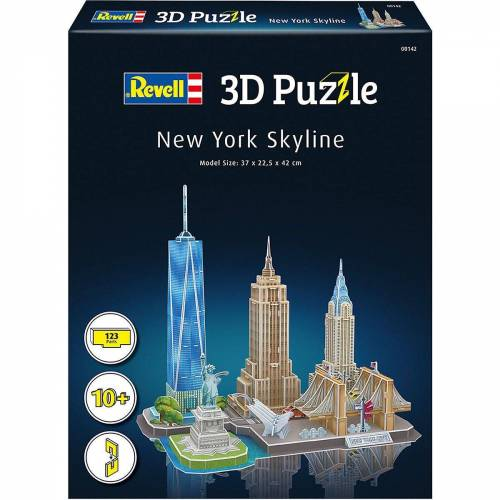 Revell® 3D-Puzzle »3D-Puzzle New York Skyline, 123 Teile«, Puzzleteile