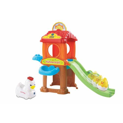 Vtech® Spielwelt »Tip Tap Baby Tiere Hühnerstall«, (2-tlg)