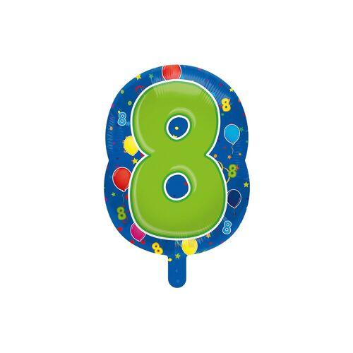 Folat Folienballon Zahl 8