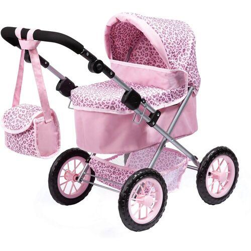 Bayer Puppenwagen »Puppenwagen Trendy, blau«, rosa