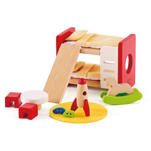 Hape »Kinderzimmer« Puppenhausmöbel (Set, 14-tlg)