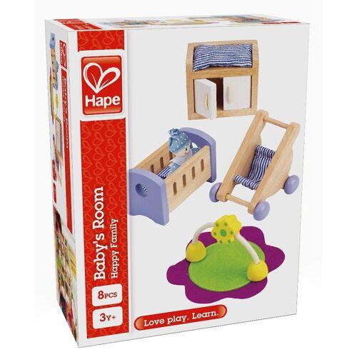 Hape »Babyzimmer« Puppenmöbel (Set, 8-tlg)