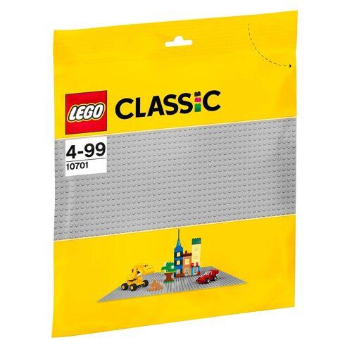 Lego Konstruktionsspielsteine »Graue Grundplatte (10701), Classic«, Kunststoff, (1 St)
