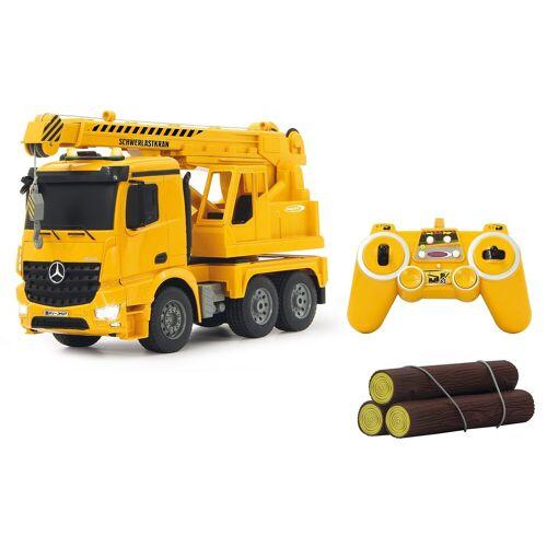 Jamara RC-Truck »Schwerlastkran Mercedes Arocs«, mit Signallichtern, gelb