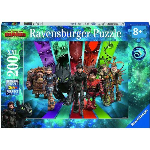 Ravensburger Puzzle »Puzzle Die Drachenreiter von Berk, 200 Teile XXL«, Puzzleteile