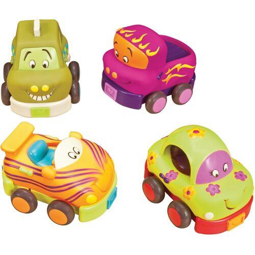 Spielzeug-Auto »Wheeeee-Is«, (Set, 4-tlg)