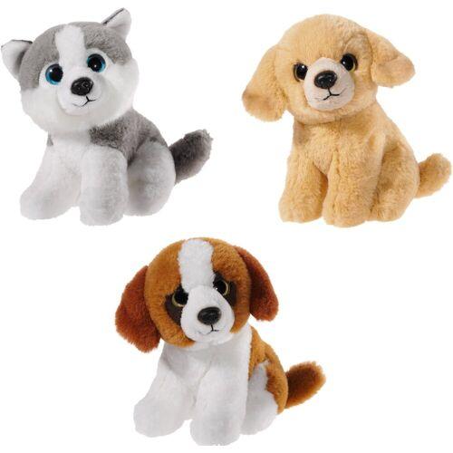 Heunec® Kuscheltier »Mini Mi Hunde Set« (Set, 3-St)