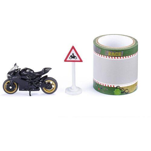 Siku Spielzeug-Auto »Motorrad mit Tape«