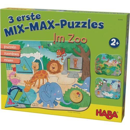 Haba 3 erste Mix-Max-Puzzles - Im Zoo