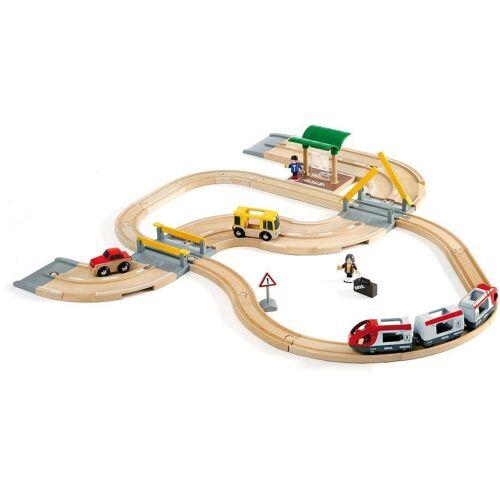 Brio Spielzeug-Eisenbahn »WORLD Straßen & Schienen Reisezug Set«