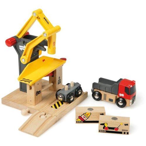 Brio Spielzeug-Eisenbahn »WORLD Frachtverladestation«, für Spielzeugeisenbahn